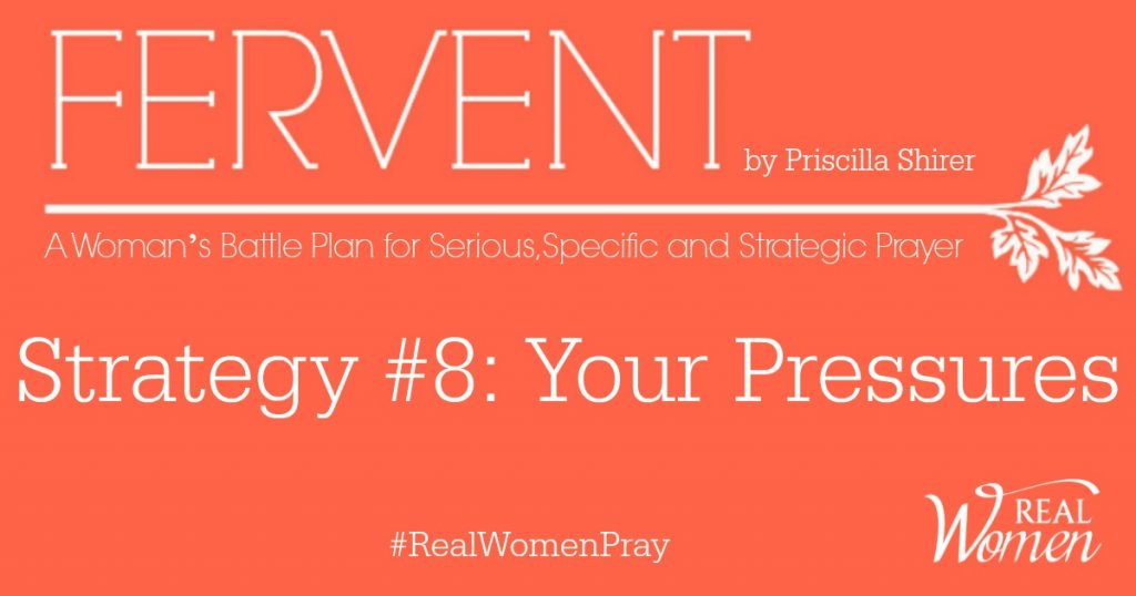 FERVENT Strategy 8 Your Pressures