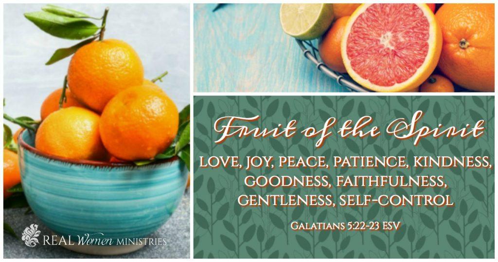 Fruit Scripture Collage