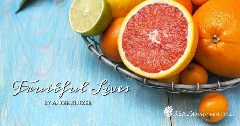 Fruitful Lives Banner