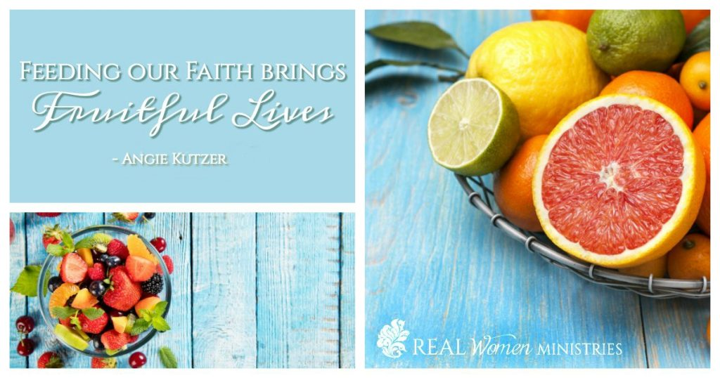 Fruitful lives quote
