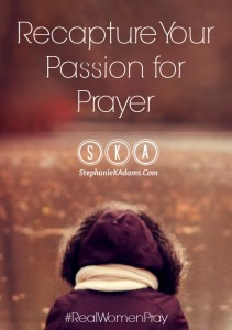 Passion for Prayer Pinterest