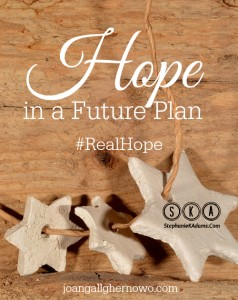 Hope In A Future Plan Pin