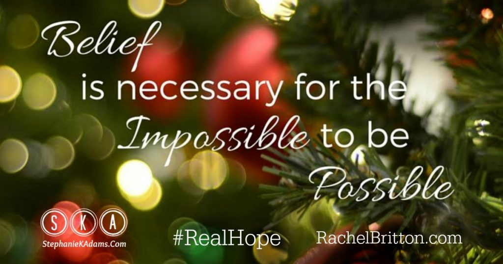 Belief Makes Your Impossibles Possible