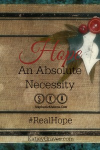 Hope is An Absolute Necessity Pin