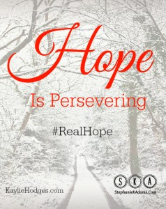 Hope is Persevering Pin