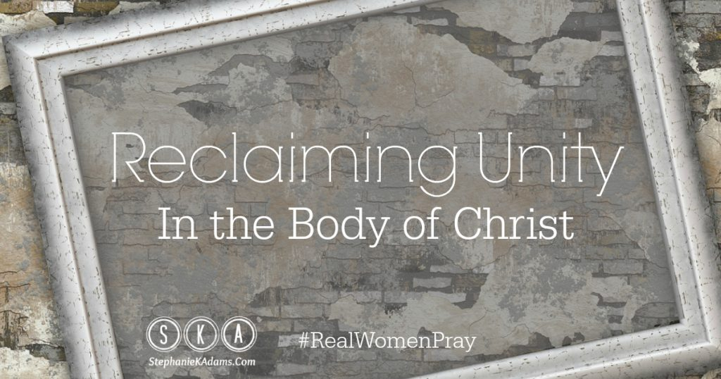 Reclaiming Unity In The Body of Christ