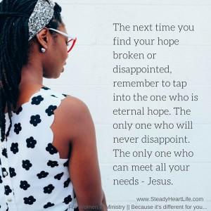 hope is eternal