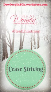 Cease Striving Pin