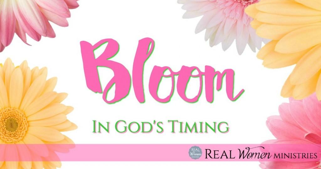Bloom In God's Timing2