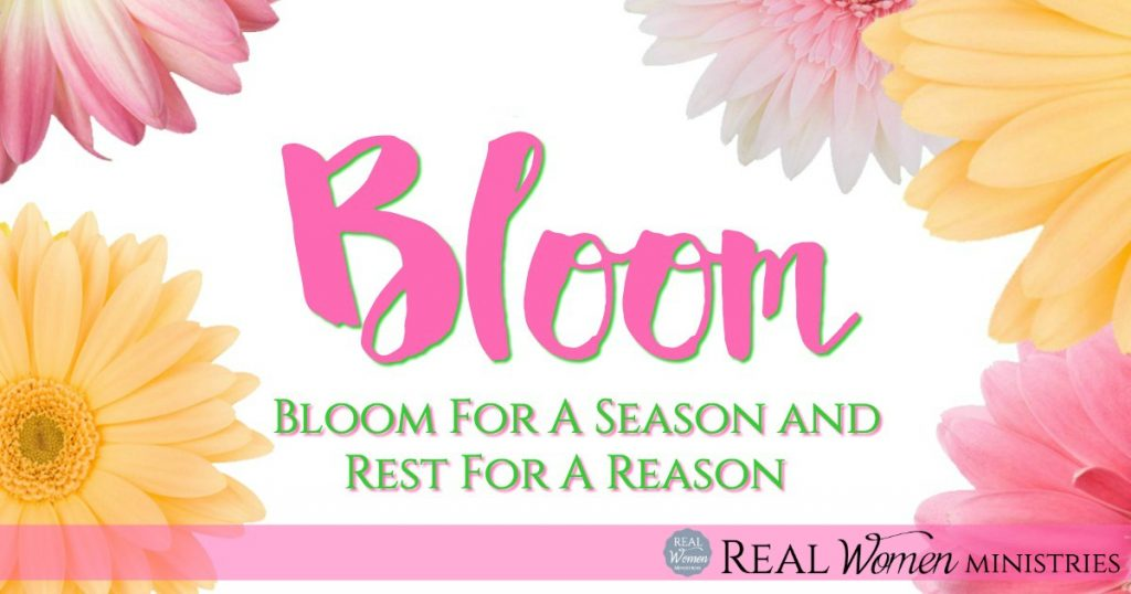 Bloom for a Season and Rest for A Reason2