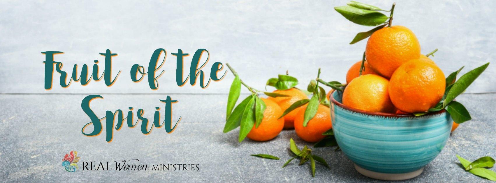 Fruit of the Spirit Banner