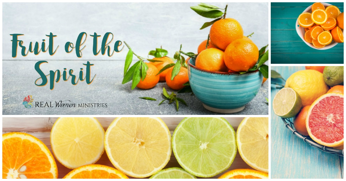 Fruit of the Spirit Collage