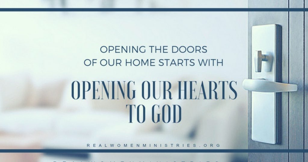 Opening Our Homes Begins With Opening Our Hearts