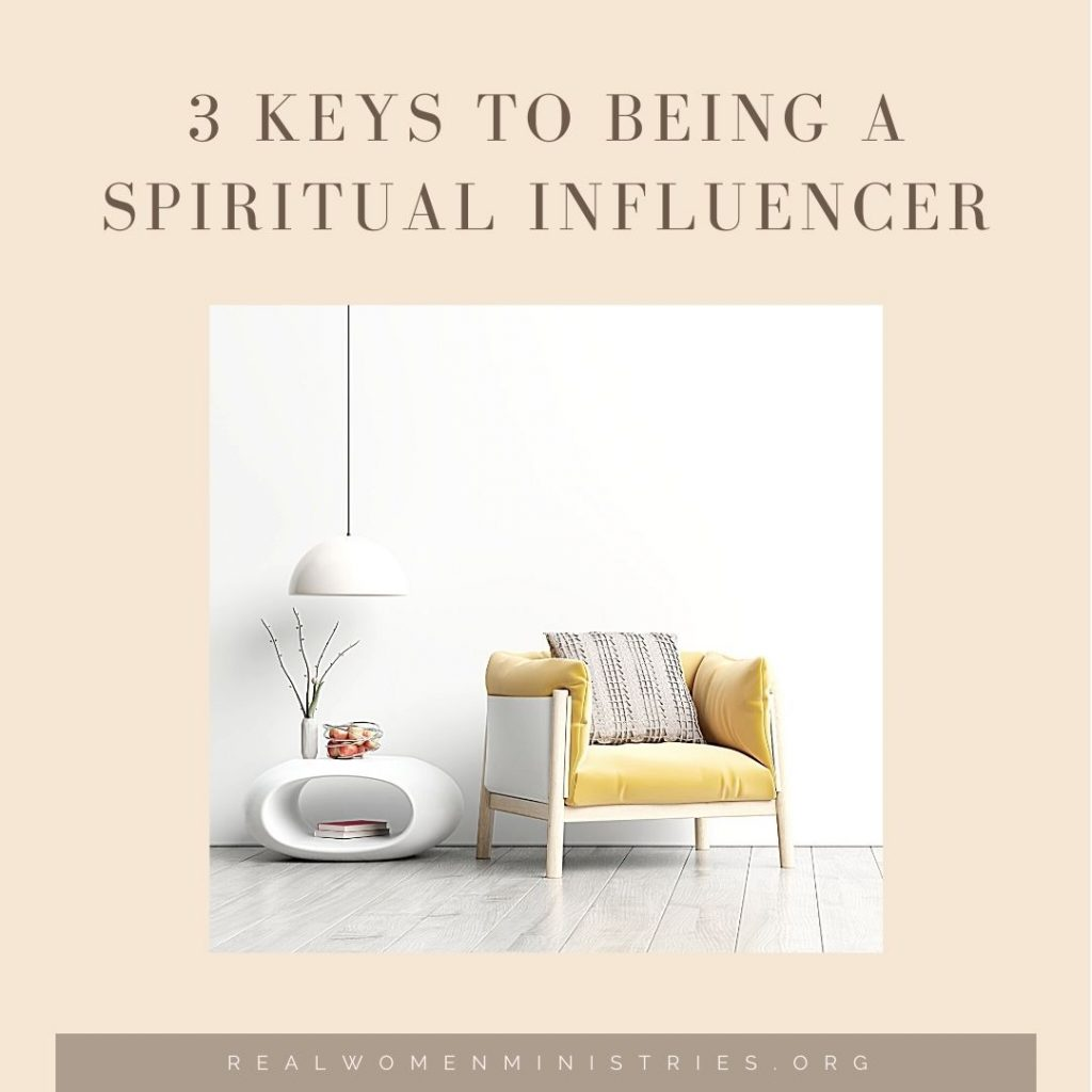 3 Keys to Being a Spiritual Influencer