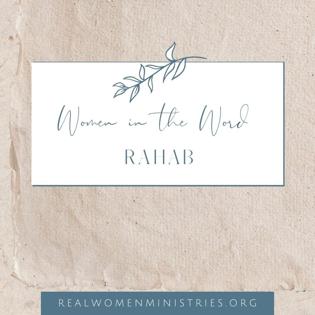 Women in the Word: Rahab